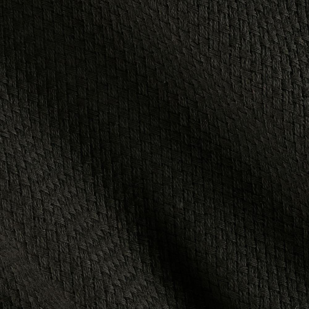 60 monk 39 s cloth black discount designer fabric for Fabric cloth material