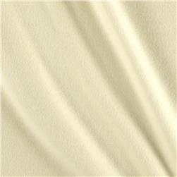 Solid Flannel Cream