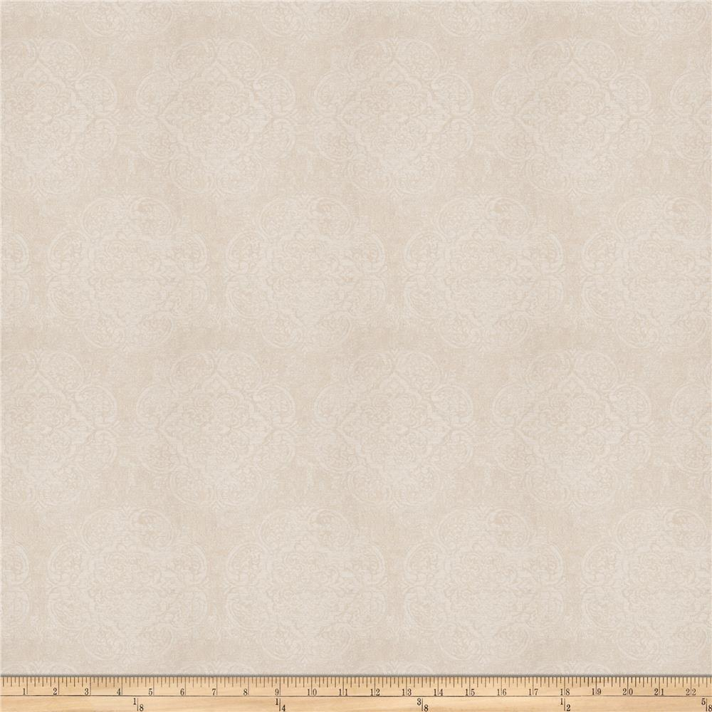 Fabricut Locke Damask Jacquard Natural