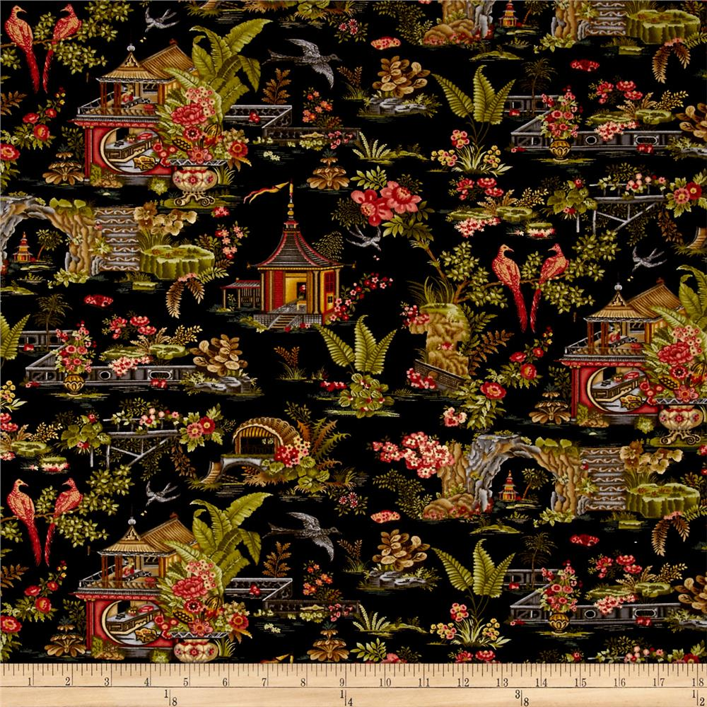 Botanica III The Scarlet Story Toile Black