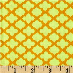 Monaco Small Medallion Orange