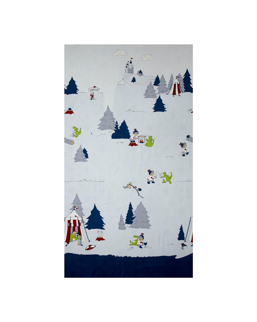 Little Ollie Camping Scenic Blue