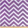Minky Cuddle Chevron Jewel/Snow