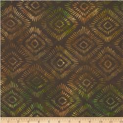 Artisan Batiks Santa Fe Trail Burst Earth