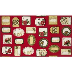 Holiday Elegance Metallic Gift Tags Multi