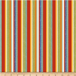 Riley Blake On Our Way Stripes Red Fabric