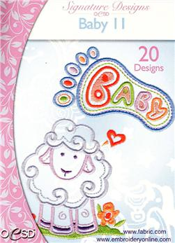 OESD Machine Embroidery CD Baby II