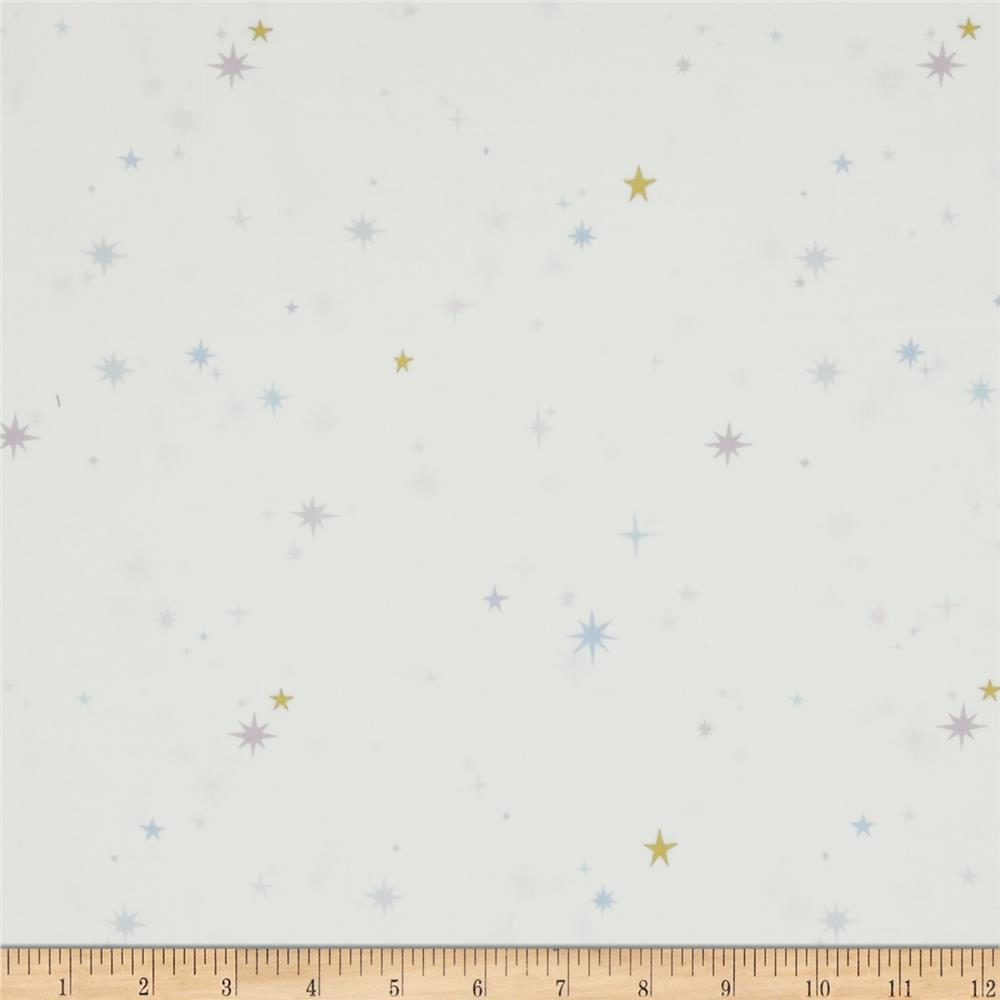 Whisper Stars Metallic White