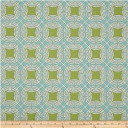 Swavelle/Mill Creek Indoor/Outdoor Saturnia Oasis Fabric
