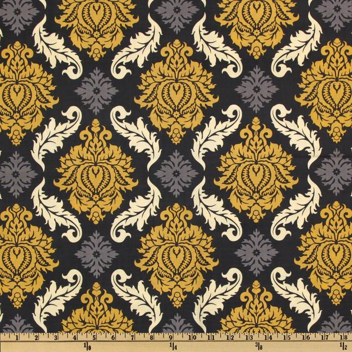 aviary 2 damask granite discount designer fabric fabric com