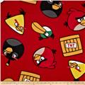 Angry Birds Fleece TNT Red