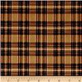 Mad for Plaid Flannel Mini Stewart Plaid Camel