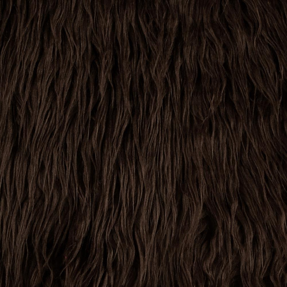Faux Fur Mongolian Brown