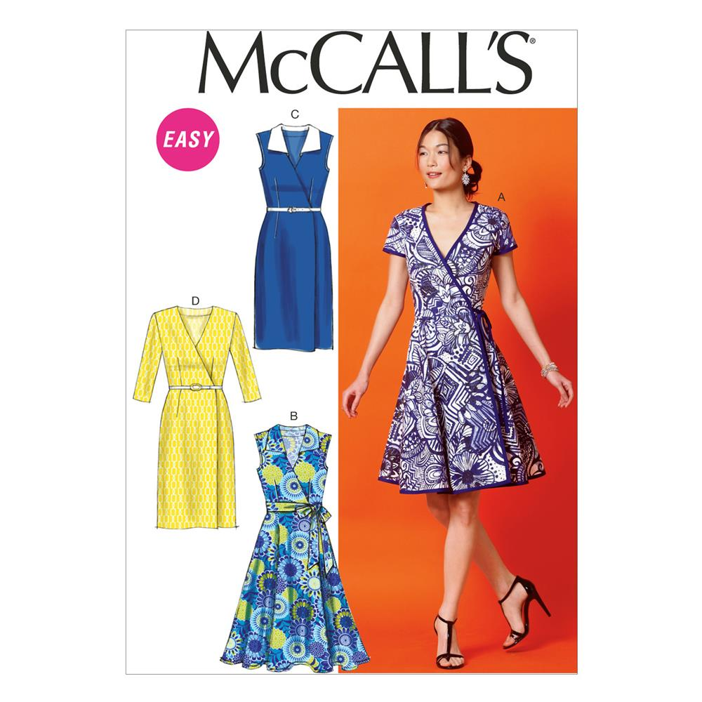 McCall's Misses' Dresses and Belt Pattern M6959 Size A50