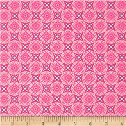 Friendly Forest Medallion Pink