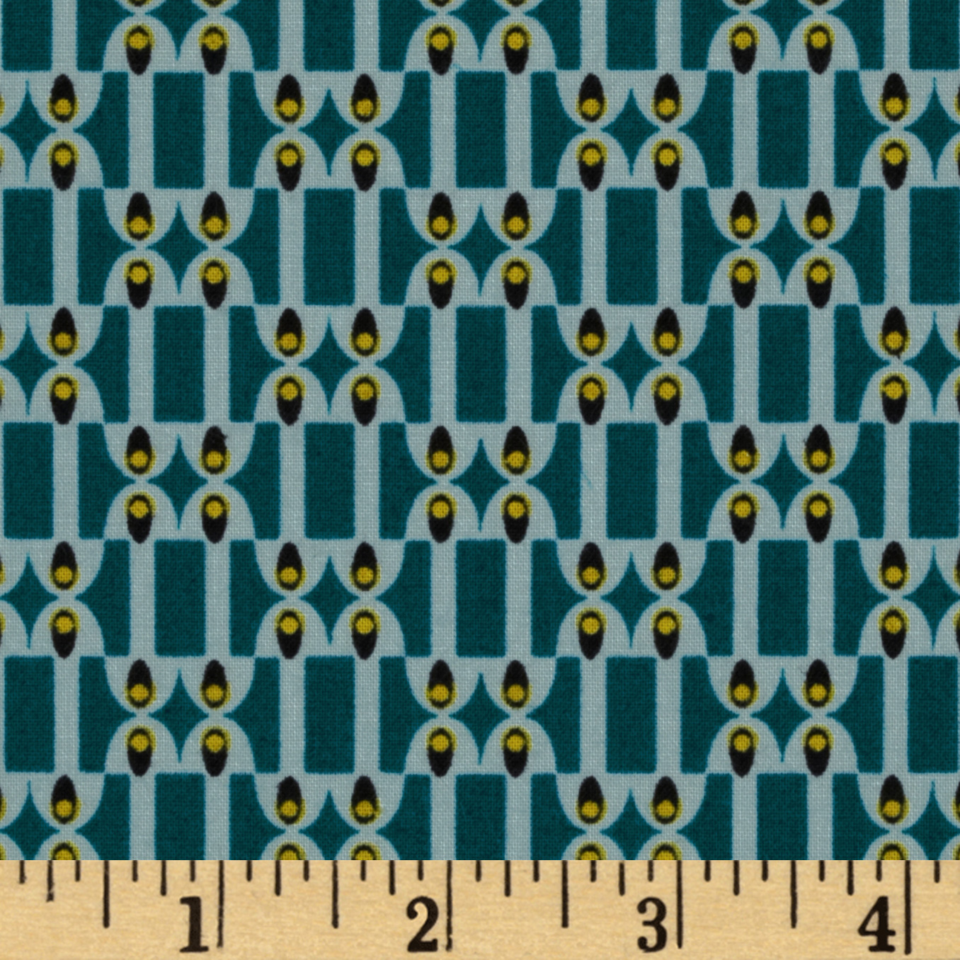 MicroMod Organic Night Vision Teal/Grey Fabric