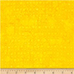 Batavian Batiks Mini Dots Yellow