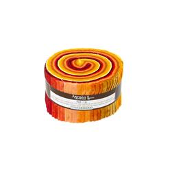 Artisan Batiks Prisma Dyes Lava Flow 2.5 In. Jelly Roll Multi