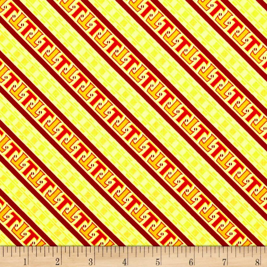 Thomas the Train Steam Team Express Diagonal Stripe Yellow