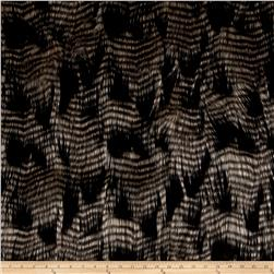 Michael Miller Porcupine Faux Fur Brown