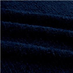 Minky Chenille Soft Cuddle Navy