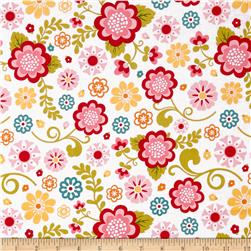 Riley Blake Fancy Free Main Pink Fabric