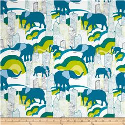 Art Gallery Jungle Ave Elephant Skyline