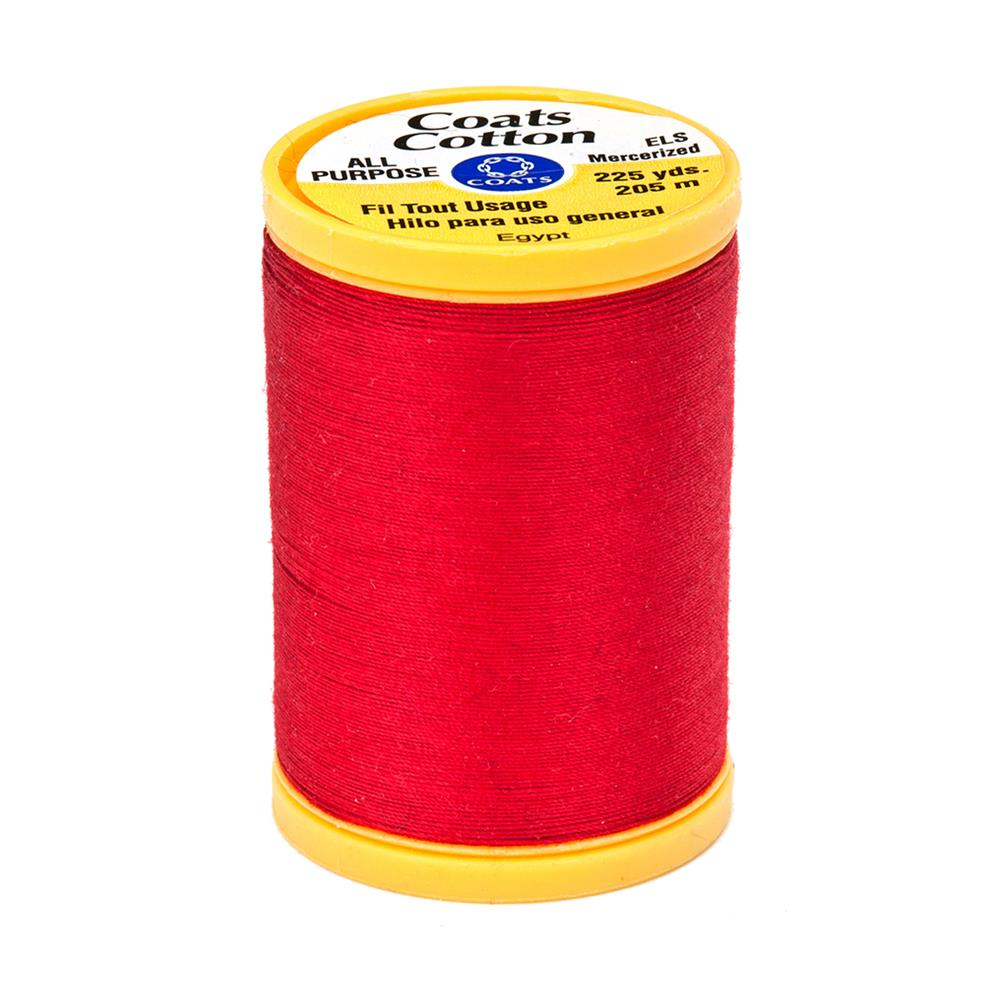 Coats & Clark General Purpose Cotton 225 yd. Atom Red