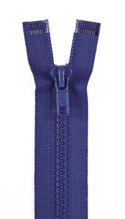 "Sport Separating Zipper 18"" French Blue"