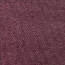 Stretch Rayon Bamboo French Terry Knit Smoky Purple