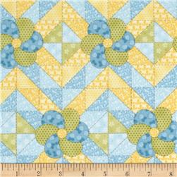 Peaceful Pastimes Quilt Patchwork Blue