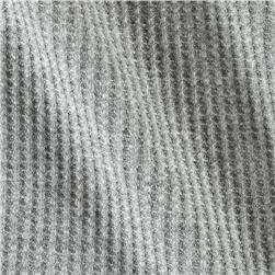 Cotton Thermal Knit Iron Grey