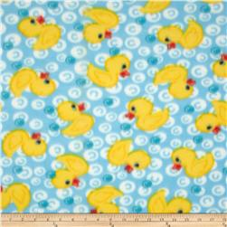 WinterFleece Duck Bubble Fabric