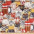 Le Petit Bistro Packed Cups & Pots Multi