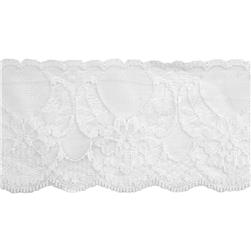 "2-1/2"" Chantilly Lace Trim White"