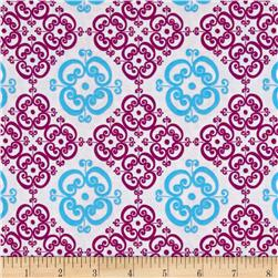 Valori Wells Small Medallions Wineberry
