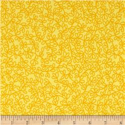 Rumble Tonal Sprigs Yellow