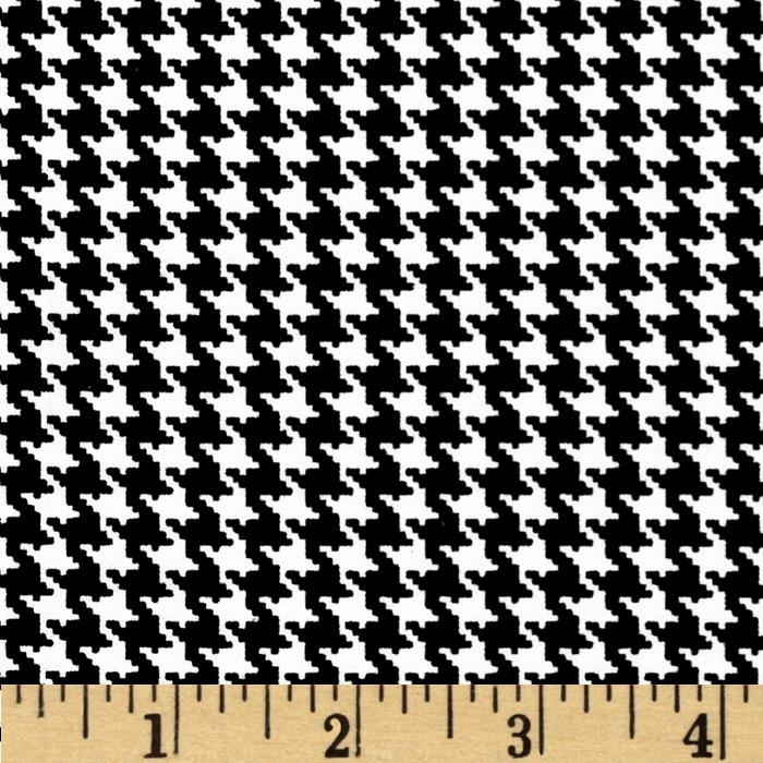 Spotlight Houndstooth Black/White