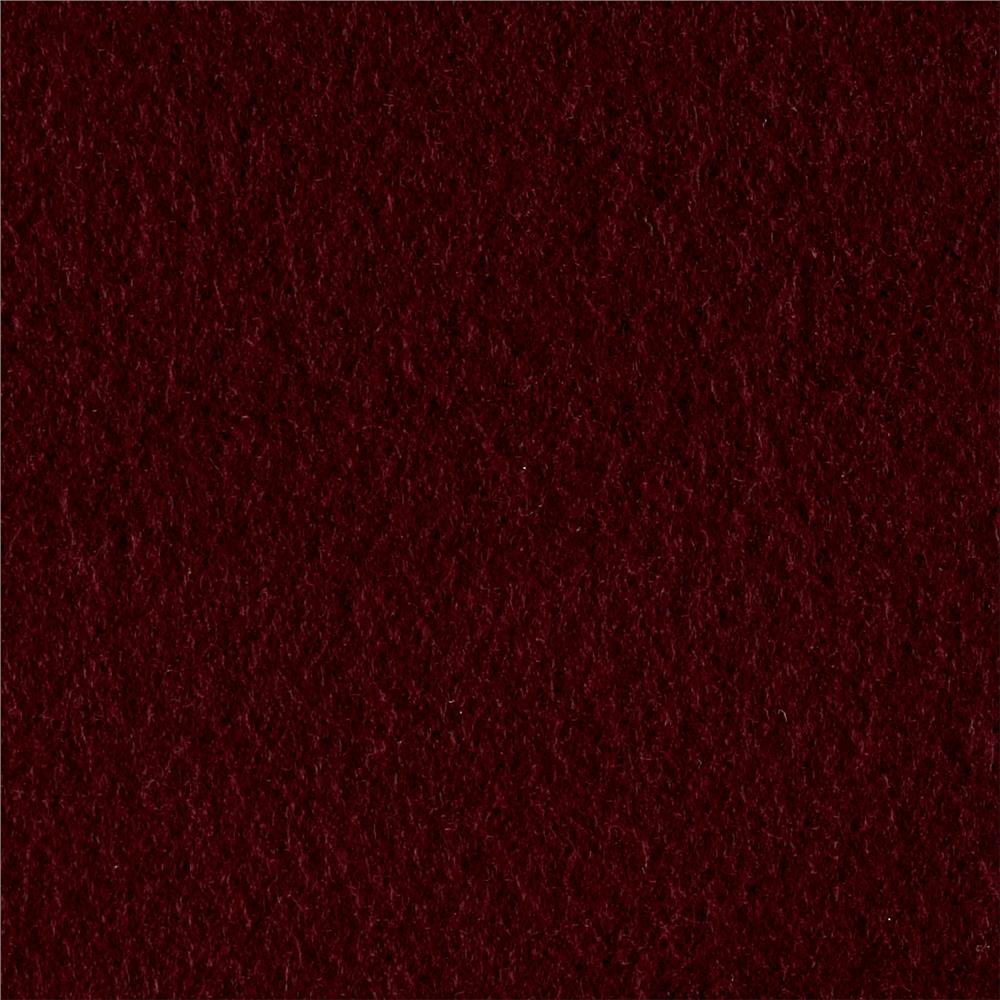 Solid Fleece Maroon