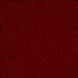 Cotton Fleece Solid Burgundy
