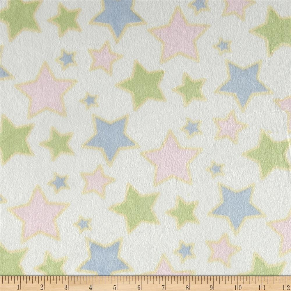 Minky Star Design Multi