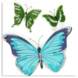 Martha Stewart Crafts Blue & Green Butterfly Stickers