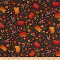 Autumn Song Pumpkin Novelty Black