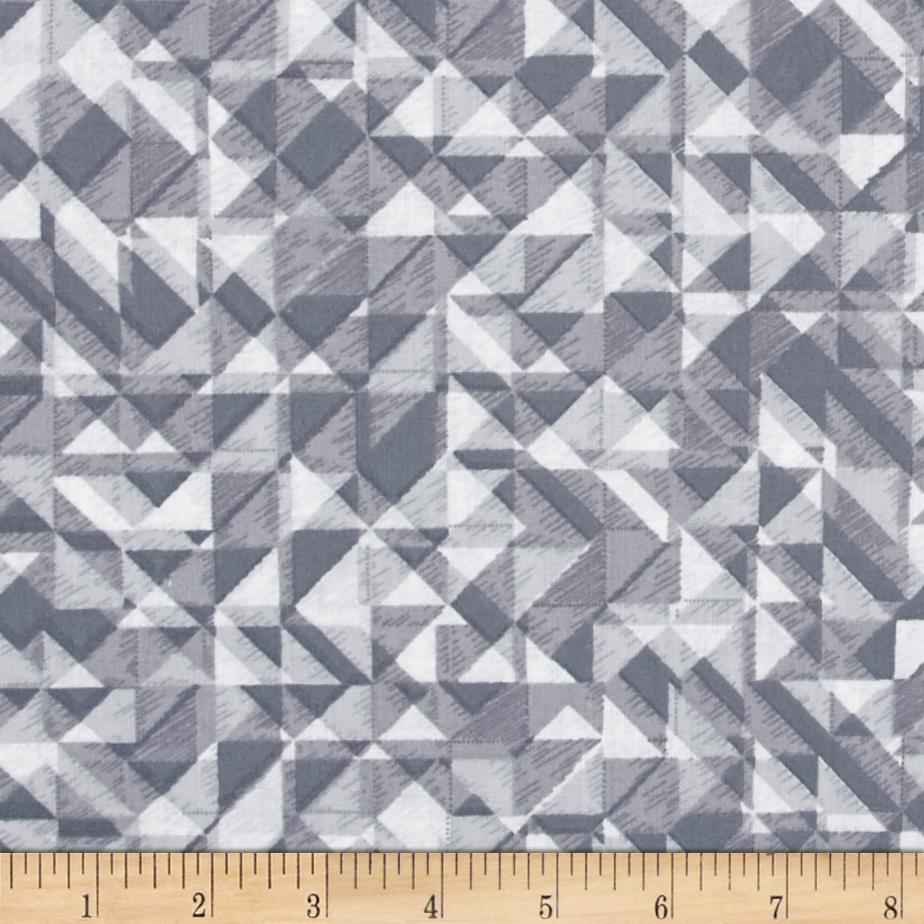 108 In. Quilt Wide Back Prisms Grey
