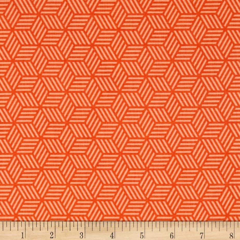 Riley Blake Play Ball 2 Geometric Orange