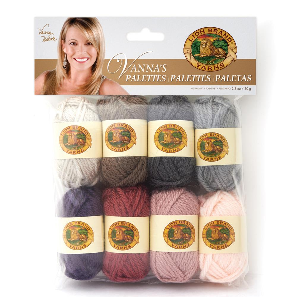 Lion Brand Vanna's Palette Yarn Romantic