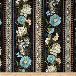 Vintage Garden Repeating Stripe Multi