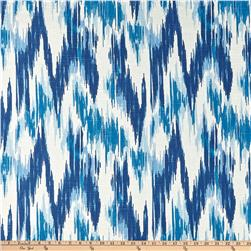 Home Accents Casbah Ikat Slub Baltic Blue Fabric