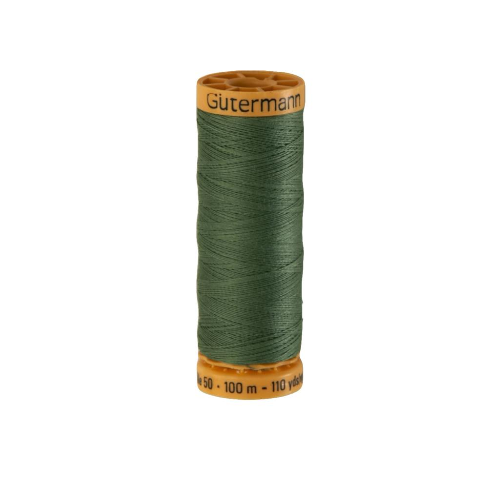 Gutermann Natural Cotton Thread 100m/109yds Fern