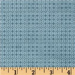 Piccadilly Mini Grid Seafoam